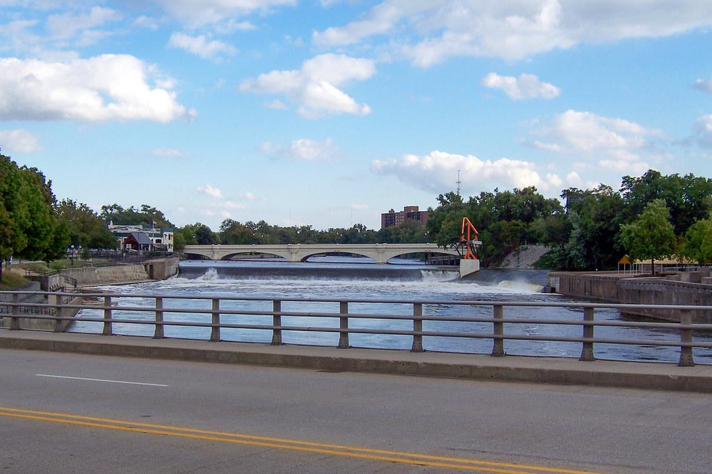 St. Joseph River from the LaSalle St. Bridge