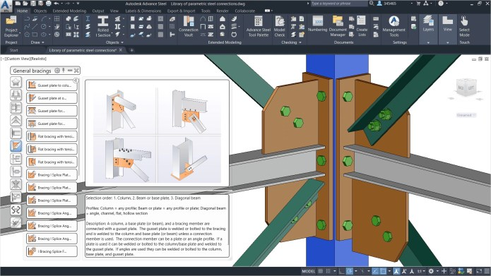 Working with Autodesk Advance Steel 2022 x64 full