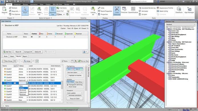 Working with Autodesk Navisworks Manage 2022 full