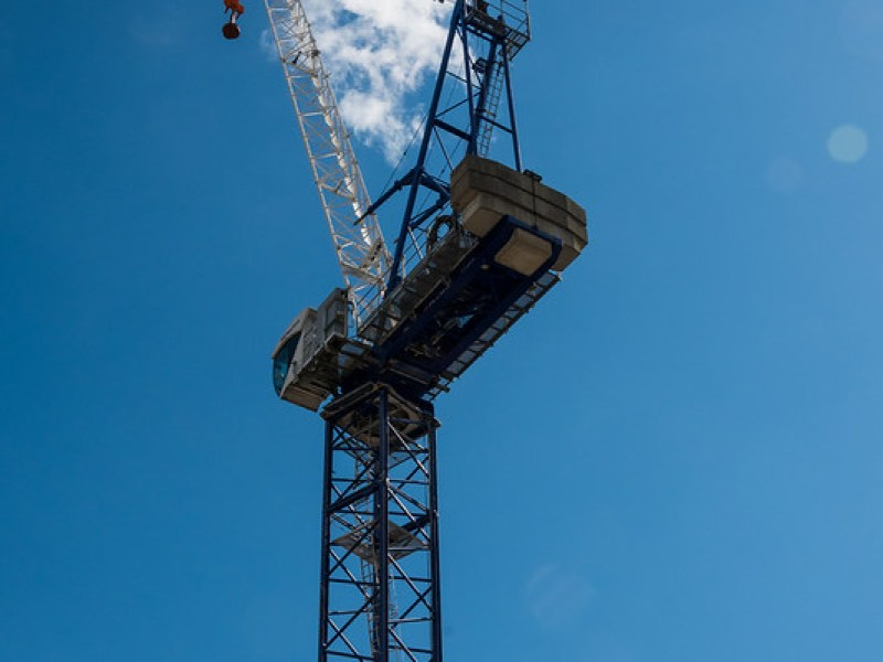 Tower Crane on the Old Post Office site