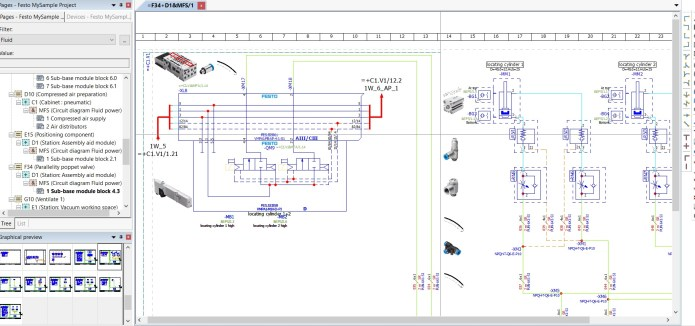 Working with EPLAN Fluid 2.9 SP1 Update 5 full