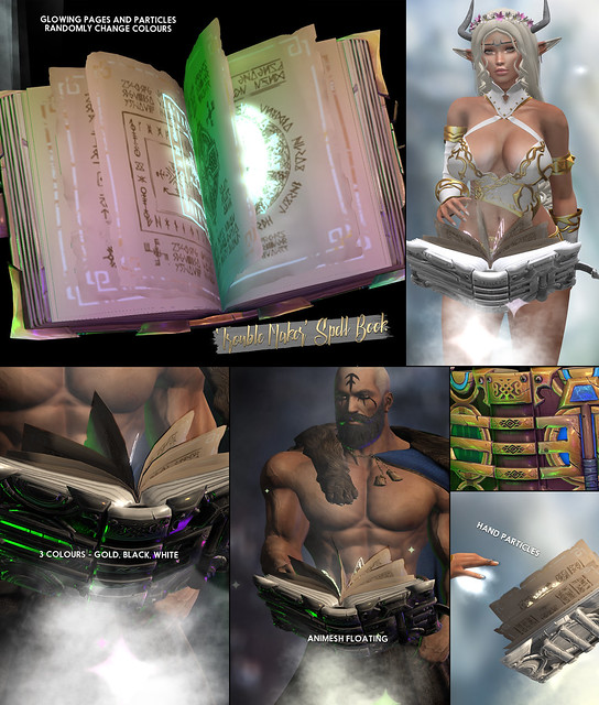 -Birth- 'Trouble Maker' Spell Book Advert - FREE!