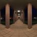 360° Panorama at night, Arcades ·  ·  ·  (R5B_2868 Pano)