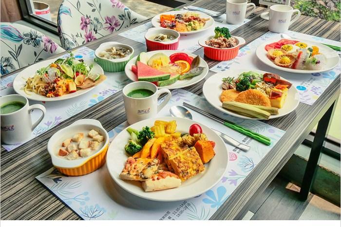 陶然左岸健康蔬食   台中北屯蔬食吃到飽,再訪用餐都有小驚艷,原來蔬食料理可以創意美味健康兼具,真是太厲害了!