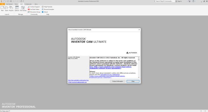 Program with InventorCAM 2022 full license