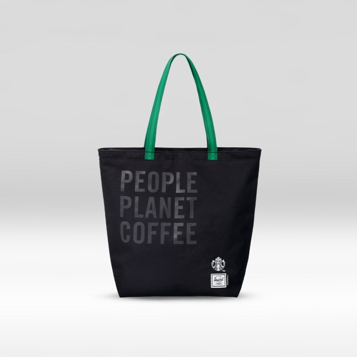The reSupply STARBUCKS® X Herschel Supply Co. Mica Tote Bag (12L)