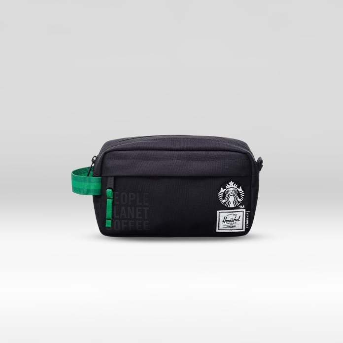 The reSupply STARBUCKS® X Herschel Supply Co. Chapter Carry-on Toiletry Bag (3L)