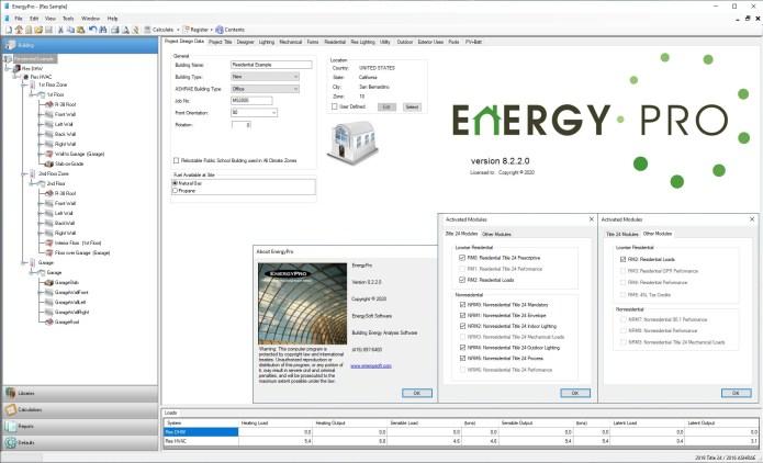 Working with EnergySoft EnergyPro v8.2.2.0 full