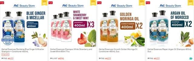 Herbal Essences Shopee Shop Green Campaign