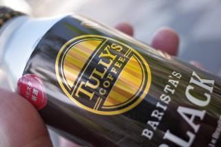 TULLY'S COFFEE BARISTA'S BLACK