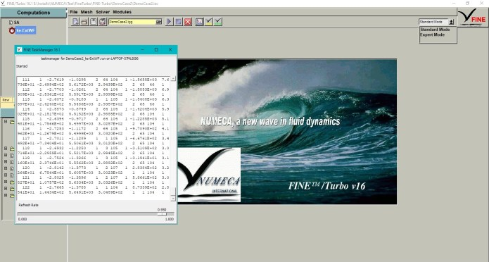 Working with NUMECA FINE-Turbo 16.1 full license forever