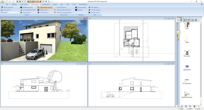 Working with Ashampoo Home Design 6.0.0 full