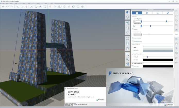 Working with Autodesk FormIt Pro 2022.0 full