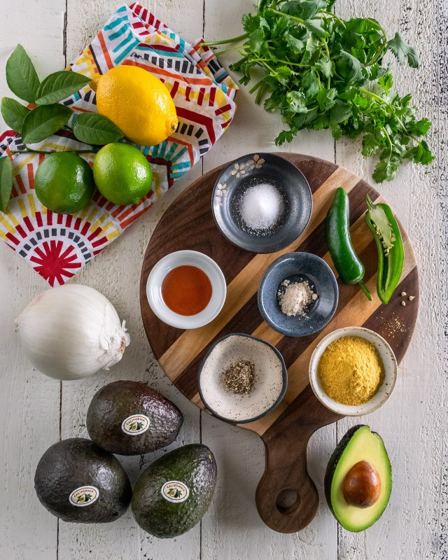 all the ingredients you need to make guacanoochi