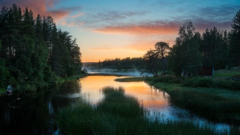 Korentojärvi sunrise