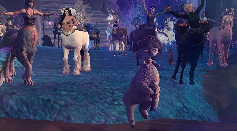 Centaur Parade - Fantasy faire 2021