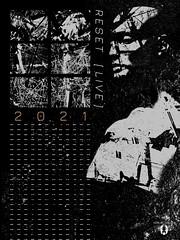"""Reset Records - Custom Promo Flyer [1 - Alt.] for June 2021 Event"""