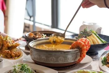 【澎湖美食】聚味軒海鮮中餐廳 一個人五百就能吃到超豪華明蝦海鮮套餐有夠狂又超值