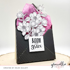 Bloom With Grace - 3D Envelope Card Tutorial