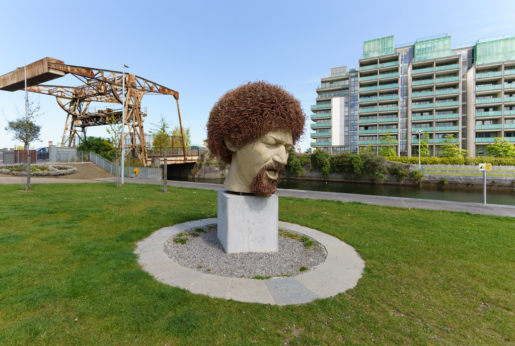 LUKE KELLY'S HEAD [WAS VANDALISED SEVEN TIMES]-191394
