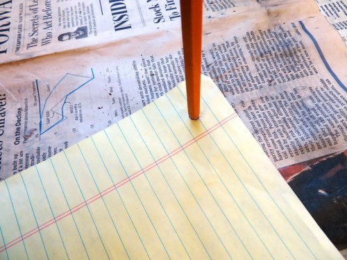 Poke Holes Through Paper Template
