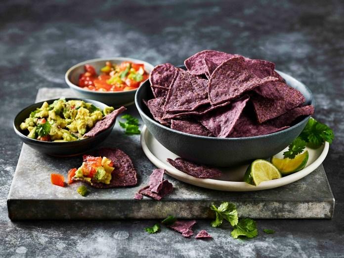 藍玉米墨西哥脆片Bluecorn Tortilla Chips_$27