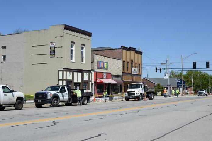 Kirklin streetscape project