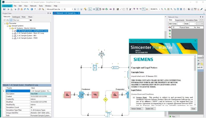 Working with Siemens Simcenter Flomaster 2021.1 Win64 full