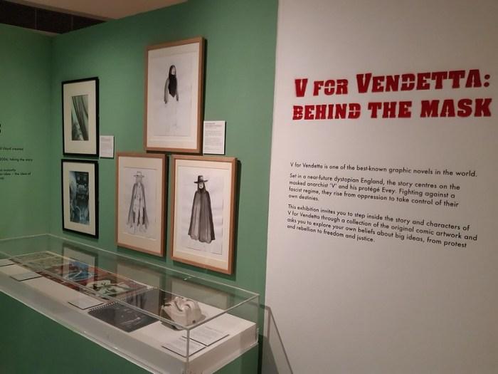 V for Vendetta - Behind the Mask Exhibition 2021