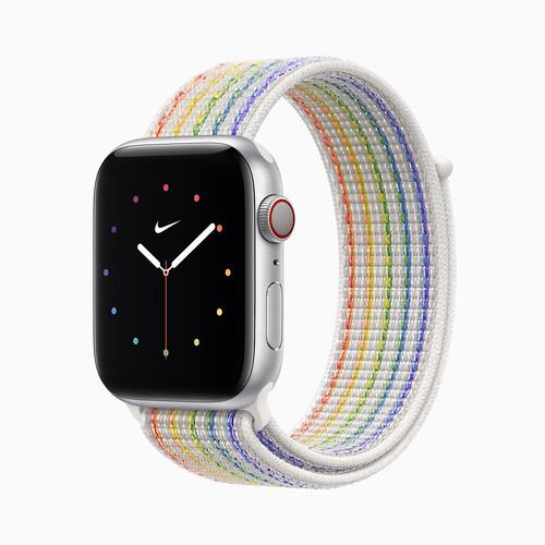 apple_pride2021_watch-series6_nike-sport-loop-pride-edition_05172021