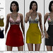 NEW 99L$!!! *P* Laura Mesh Dress ~10 Patterns HUD~