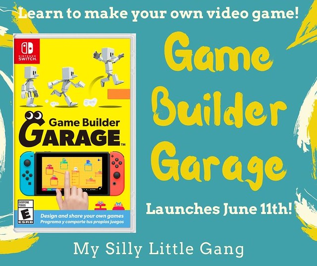 Game Builder Garage Launches for Nintendo Switch on June 11 #MySillyLittleGang #NintendoSwitch