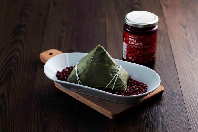 紅果子豆沙粽