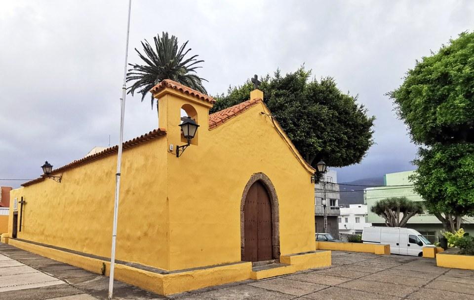 portada exterior Ermita San Sebastián Gáldar Gran Canaria Islas Canarias 02