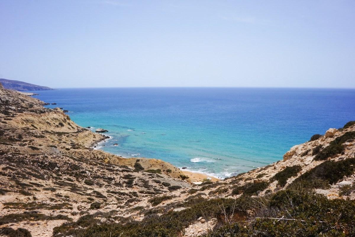 Red Beach, Crete