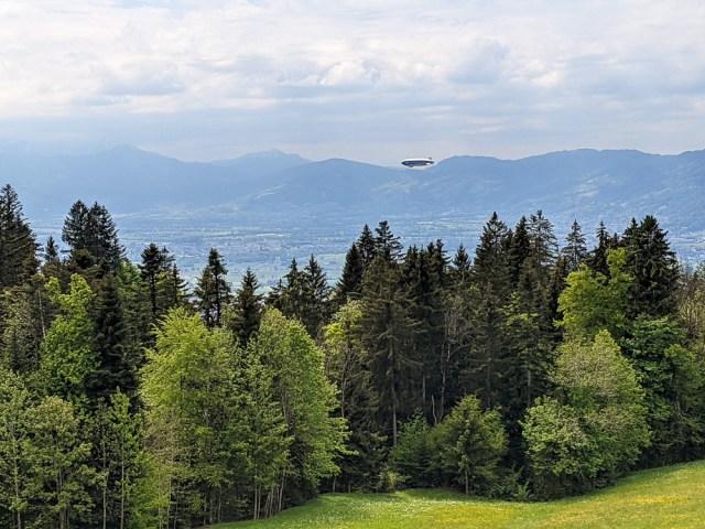 Zeppelin NT in Vorarlberg