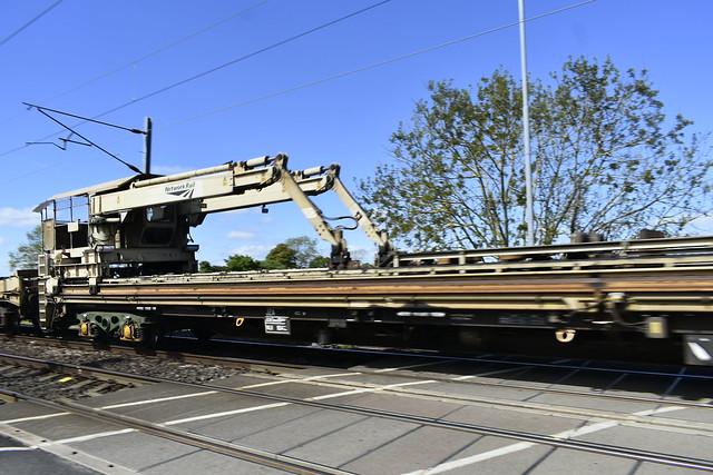 Network Rail Infrastructure train