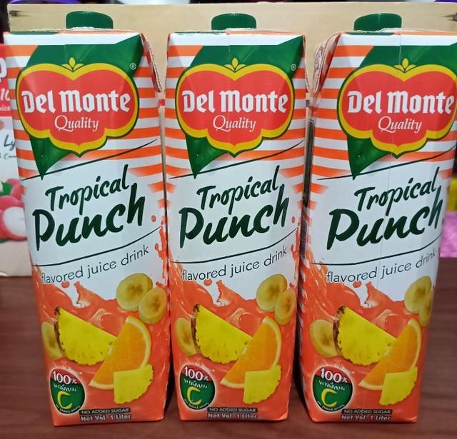 Del Monte Tropical Punch Juice Drink