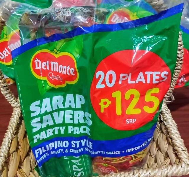 Del Monte Sarap Savers Party Pack - Filipino Style Spaghetti Sauce