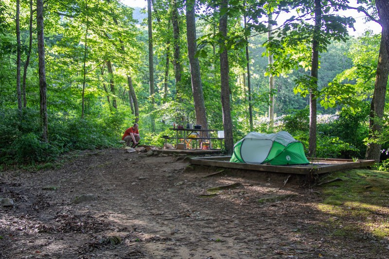 Raccoon Mountain Campground0