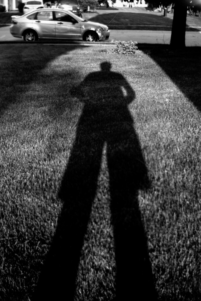 Tall shadow