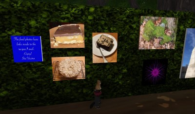 Siri's pics at Art walk include nature and food pictures.