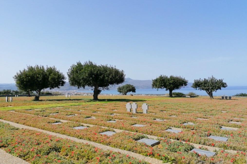 Saksalainen hautausmaa, Maleme