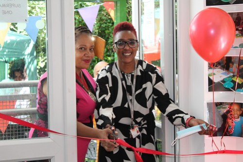 KGEB Supermarket opening