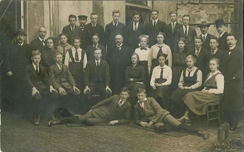 Simon Vestdijk Senior, gymnastiekleraar aan de HBS te Harlingen, ca. 1919-1920