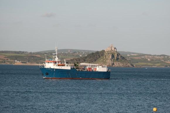 Gry Maritha and St Michael's Mount