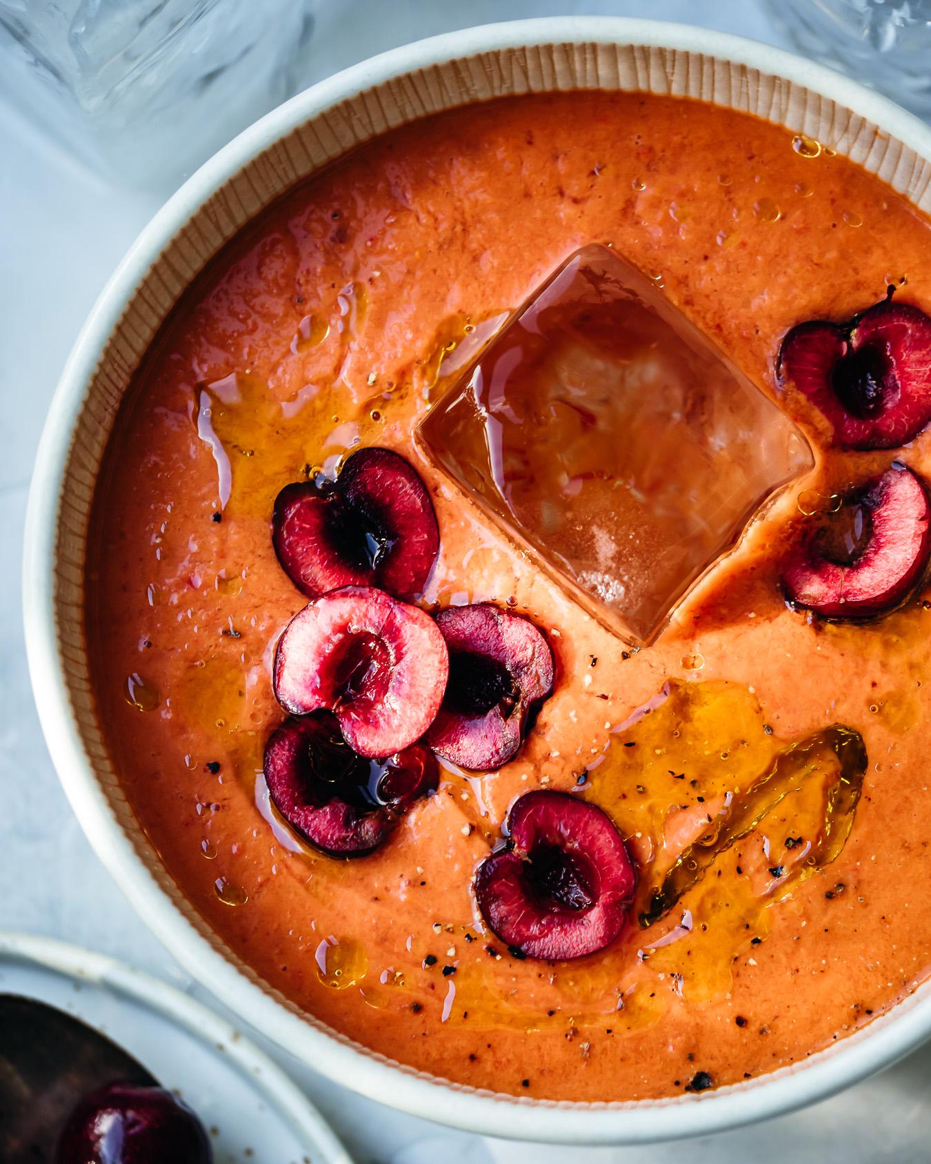 kirsikka gazpacho