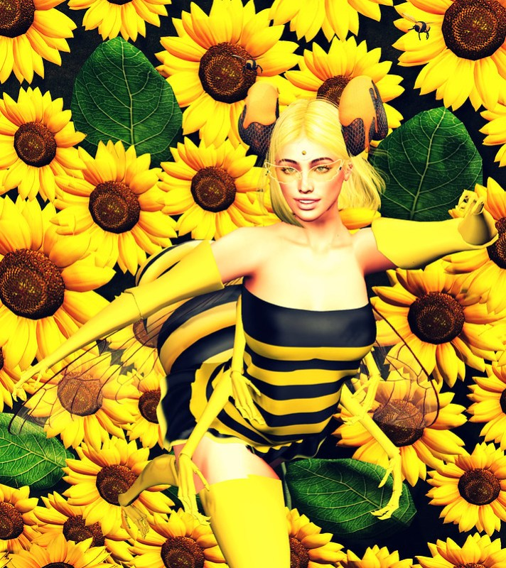 """Ohhhh, it's good to """"Bee"""" back <3"""