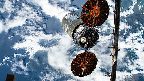 Cygnus is released from the Canadarm2