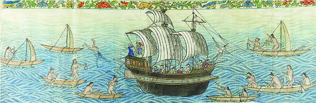 Manila Galleon Trade in the Marianas, 1590